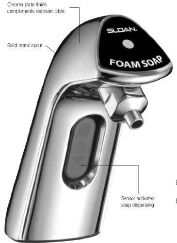 Sloan SJS-1750 Soap Dispenser 7000015 by Sloan Valve (Image #1)