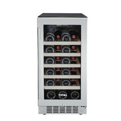 25 Bottle Single Zone Built-In Wine Refrigerator