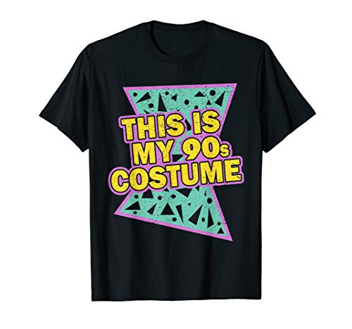 This Is My 90-s Costume T-Shirt 80's 90's Party Tee -