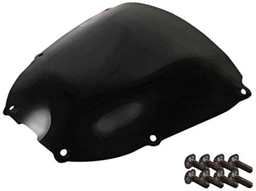 Sportbike Windscreens ADHW-107DS Dark Smoke Windscreen (Honda Rc51 (01-06) with Silver Screw kit), 2 Pack