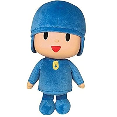 "Pocoyo Plush 9.8"" / 25cm Pocoyo Doll Stuffed Anime Animals Cute Soft Collection Child Toy in Box: Toys & Games [5Bkhe0401506]"