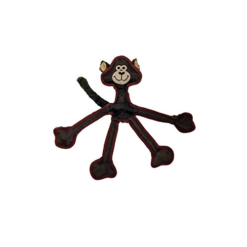 Multipet 43323-1 Skele-Ropes Animals Toy, Monkey, 15″, Brown