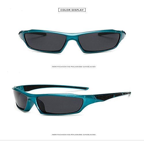 Polarizador del Libre Estilo Marco Inovey del gris Montar Aire Pieza De Brillante Parabrisas azul Té Al 1019 Gafas marco Té Hombres Ozz8A