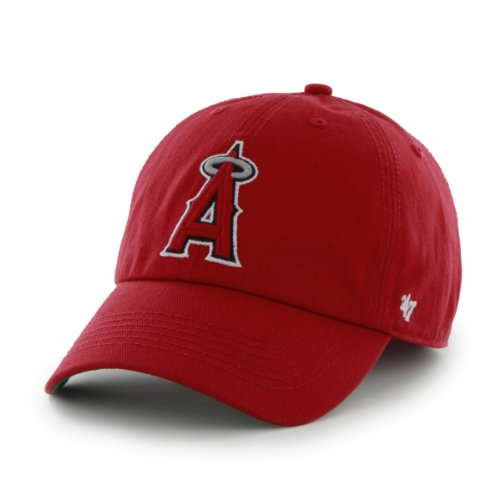 fan products of MLB Los Angeles Angels Cap, Red, X-Large