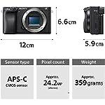 Sony Alpha ILCE-6400 24.2MP Mirrorless Digital SLR Camera Body (APS-C Sensor, 4K Vlogging Camera, Tiltable LCD) – Black + SanDisk 128GB Extreme Pro SDXC UHS-I Card – C10, U3, V30, 4K UHD, SD Card