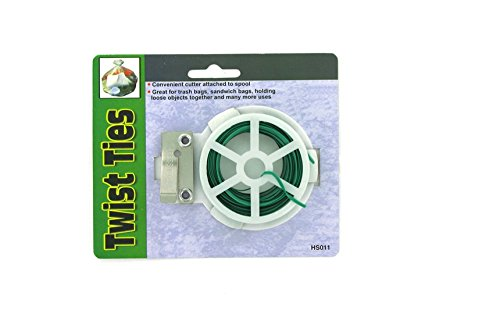 Twist Ties With Reel - Case of 144 by bulk buys
