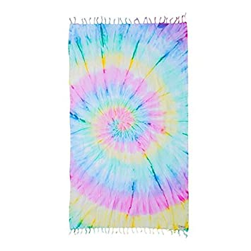 hanging beach towel. Wanderlust Tie Dye Beach Towel Blanket Tapestry Wall Hanging - 100% Turkish Cotton By Sand