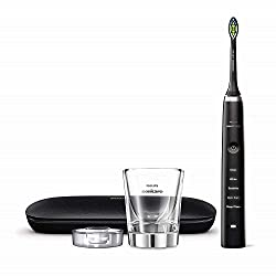 Philips Sonicare DiamondClean Classic Rechargeable Electric Toothbrush, Black HX9351/57