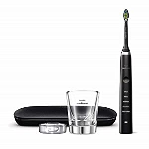 Philips Sonicare HX9351/57 DiamondClean Classic Rechargeable Electric Toothbrush, Black 4