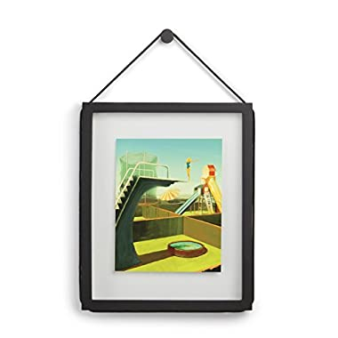 Umbra Corda Photo Display, 11 by 14-Inch/8 by 10-Inch Float, Black