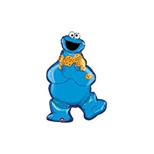 2 X Cookie Monster Super Shape By Anagram
