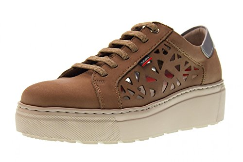 Femme Callaghan Bas Taupe Chaussures 14901 Sneakers vCx5xYPqw