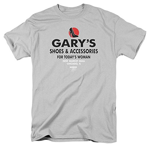 Married With Children- Garys Shoes & Accessories Logo T-Shirt Size M from Trevco