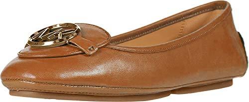 Michael Michael Kors Lillie Flat Shoes Women Cognac Ballerinas Shoes