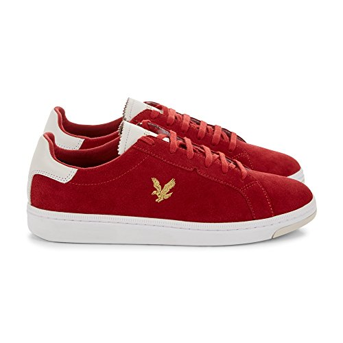 Lyle & Scott Herren Sneaker Rot Rot Auditors Target Value