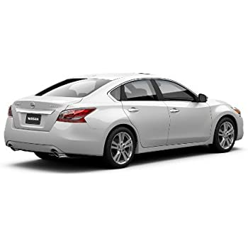 Amazon Com 2013 Nissan Altima Pearl White Rear Splash