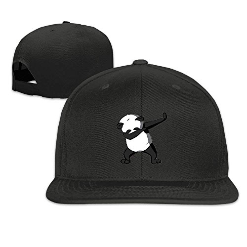 ruishandianqi Dabbing Protection Dance béisbol Challenge Sun Gorras Hat Black Cap Panda rq6pr