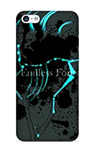 Fashion Tpu Case For Iphone 5c- Anime Original Defender Case Cover For Lovers