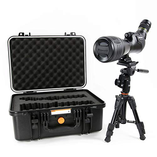 Vanguard Endeavor HD 82A 20-60×82 Angled Spotting Scope with Bonus Tripod and Case