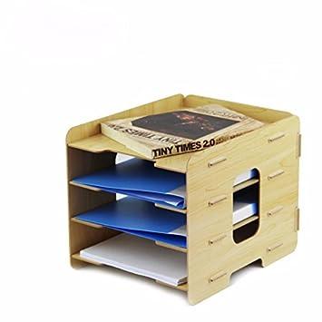 Bricolaje Pared literatura titular archivo soporte resistente a los arañazos de la delantero-carga carta