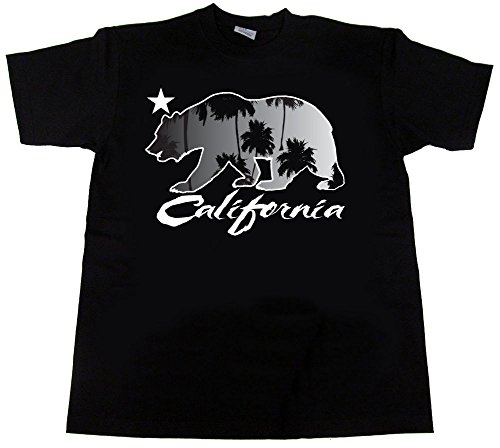 e592c88a8af California T Shirt Cali Livin republic CA LA Los Angeles Palm Trees Weed  Kush
