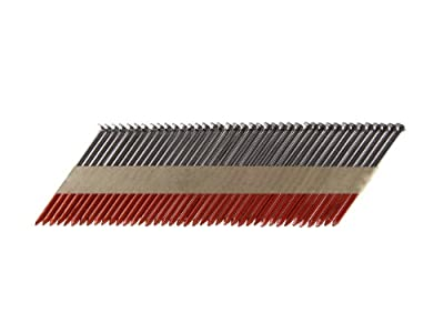 B&C Eagle A314X131/33 Offset Round Head 3-1/4-Inch x .131 x 33 Degree Bright Smooth Shank Paper Tape Collated Framing Nails (500 per box) by B & C Eagle
