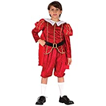 Fancy Dress Boys Kids Tudor Prince (Children: S)