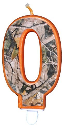 Hunting Camo Birthday 3 Inch Number