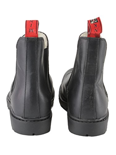 Mink Horse Damen stabil/Arbeit komfortabel Fell Wasserdicht Leder Boots XL  schwarz: Amazon.de: Sport & Freizeit