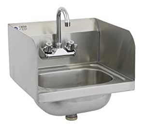 Royal industries commercial restaurant wall for Splash guard kitchen sink