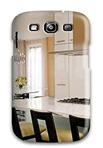 New Arrival Modern Cabinetry Meets Traditional Marble And Fabric For Galaxy S3 Case Cover