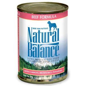 Natural Balance Ultra Premium Beef Formula Canned Dog Food 13oz by Natural Balance by Dick Van Patten's Natural Balance Pet Foods, Inc.