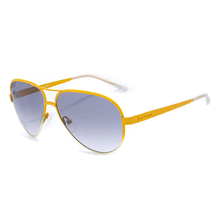 italia independent 000-061-000 Gafas de sol, Naranja, 55 ...