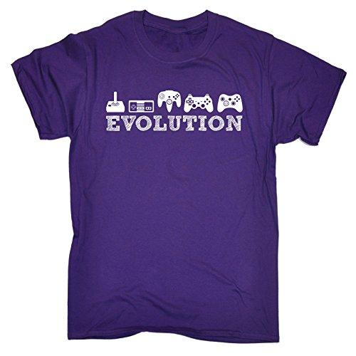 123t Slogans Men's EVOLUTION GAMING LOOSE FIT T-SHIRT