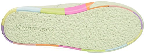 Superga Dame 2790-cotmultifoxingw Sneaker Multicolore (mynte Flerfarvet) xQhMT84