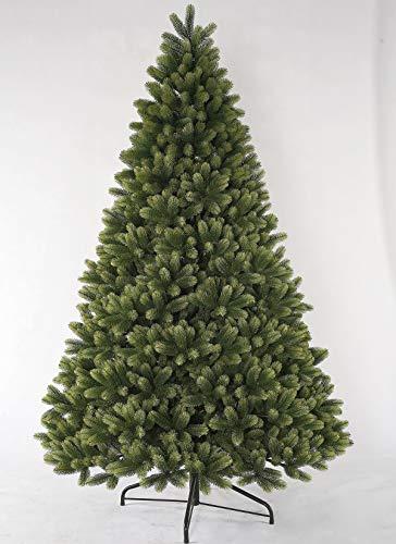 KING OF CHRISTMAS 10 Foot Royal Fir Quick-Shape Christmas Tree Unlit