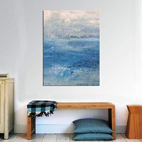 キャンバスアート抽象プリント絵画家の装飾油絵壁写真用リビングルーム絵画キャンバス50×70センチなしフレーム
