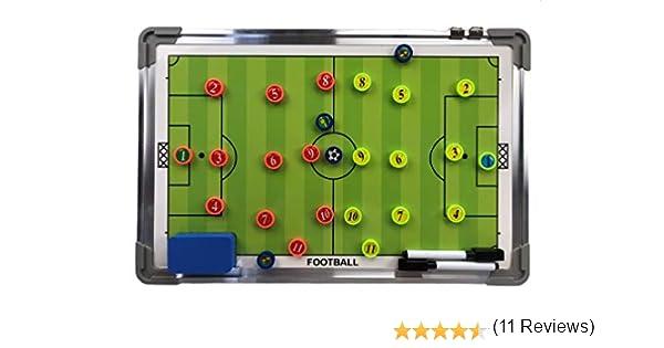 Coaches Vision - Marcador para Entrenamiento de fútbol (Incluye 2 ...