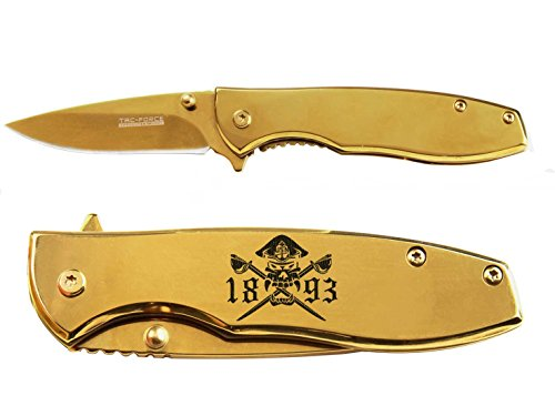 Us Navy Chief V2 engraved Mirror Gold Finish TAC-Force TF-