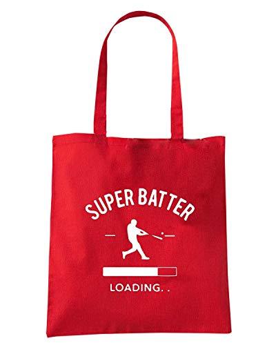 Shopper Rossa Speed SUPER BATTER Shirt WC1246 Borsa BaxtwqxER