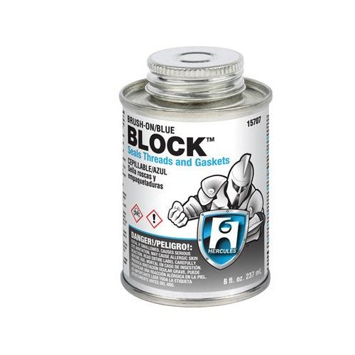1 qt. Block (screw cap with brush)