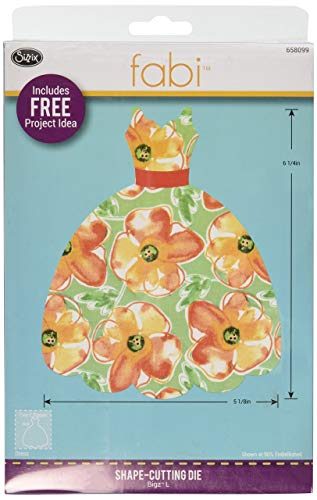 Sizzix Dress die, Multi Black (Renewed)