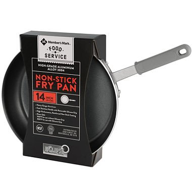 Daily Chef 14'' Nonstick Restaurant Fry Pan