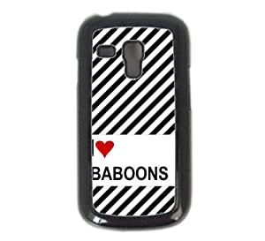 Love Heart Arkansas Samsung S3 Mini i8190 Case Fits - Samsung Galaxy S3 Mini i8190