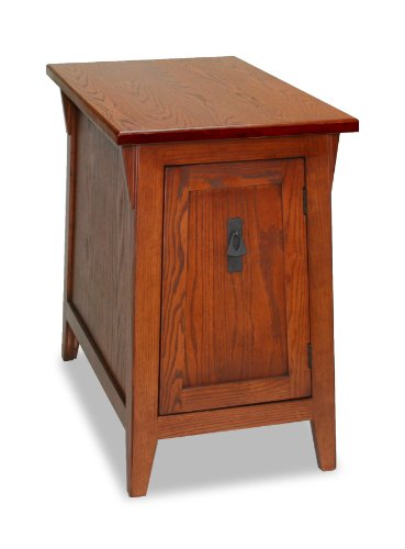 Leick Favorite Finds Mission Cabinet End Table, - Oak Crafts Table Arts &