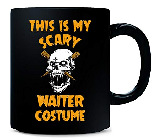 This Is My Scary Waiter Costume Halloween Gift - -