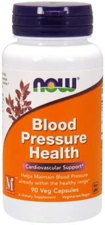 Now Foods Blood Pressure Health 90 Vcaps, 2 Pack