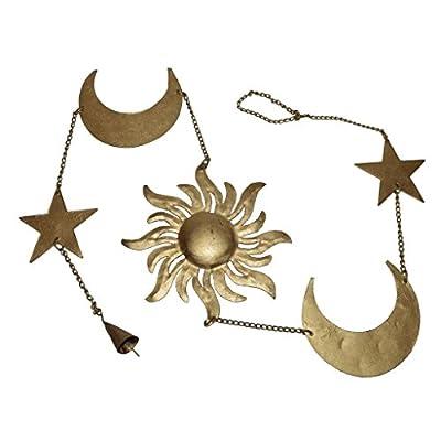 Iron Made Sun Moon Star Wall Hanging / Metal Wall Hanging
