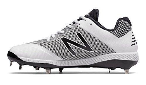 New Balance Men's L4040v4 Metal Baseball Shoe, Silver/Camo, 8 D US by New Balance (Image #1)