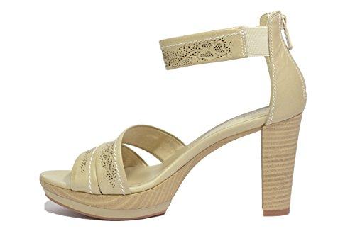 5521 Nero Giardini donna scarpe P615521D Sandali sabbia xwqRXqBv0